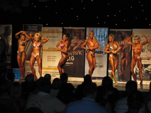 Overall Figure Lineup : 2008 ANB National Titles - 25th/26th October 2008