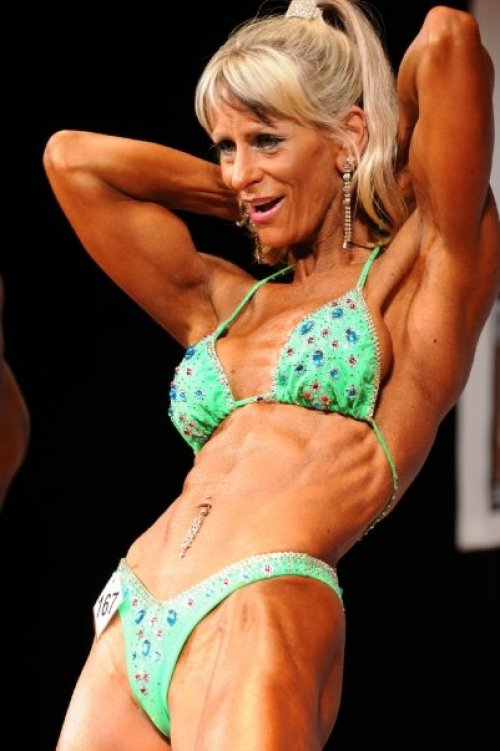 Karen Flaherty - VIC : 2008 INBA National Physique Titles - 18th October 2008