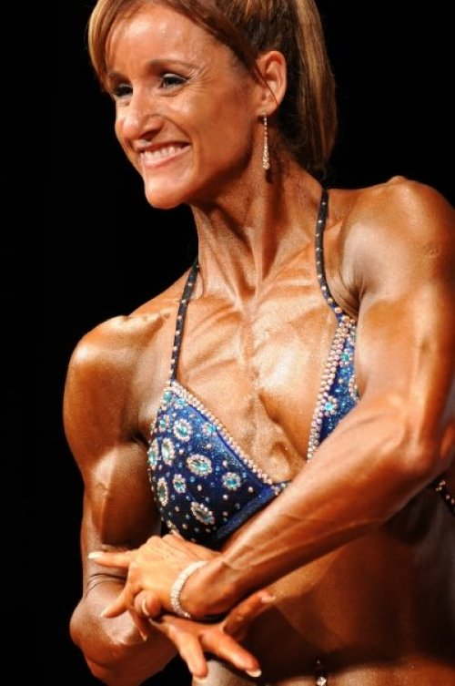 Lucy Hermans - VIC : 2008 INBA National Physique Titles - 18th October 2008