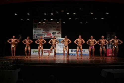 Men's Intermediate Lineup : 2008 INBA National Physique Titles - 18th October 2008