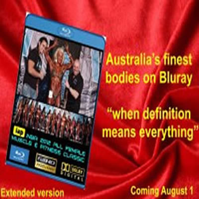 BLURAY - 2012 INBA All Female Muscle and Fitness Classic