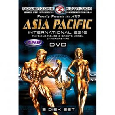 2010 ANB Asia Pacific International - 4 discs